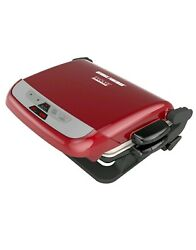 George Foreman Evolve 5 Serving Multi-Plate Waffle Cooker Electric Indoor Grill