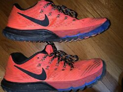 Nike Orange Running Shoe Womens Sz 9 Mens 7.5