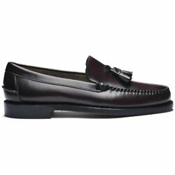 Sebago Classic Will Loafers Men's Leather Full Flower Stiched a Mano Heel Rubber