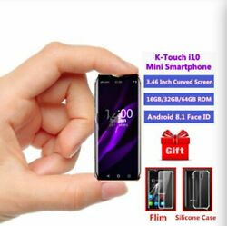 Super Mini Smartphone 4G LTE Smallest K TOUCH I10 Android8.1 Face ID 3GB 64GB $119.99