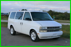 2003 Chevrolet Astro All-Wheel Drive Cargo Van Fleet Maintained Low Miles