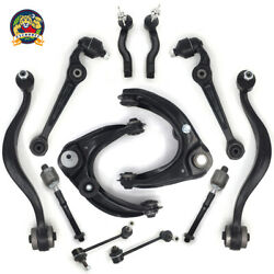 For Mazda 6 12Pc Front Upper Lower Control Arms Tie Rods Sway Bar Suspension Kit $143.95