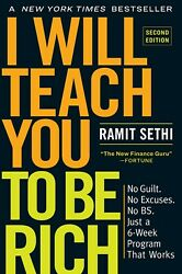 I Will Teach You to Be Rich by Ramit Sethi (2019 Paperback)