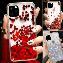 For Iphone 13 Pro Max 12 11 XS Max XR 8 Bling Glitter Cute Girl Phone Case Cover $7.98