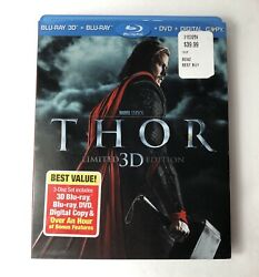 Thor Blu-ray 3D + DVD ONLY Limited Edition