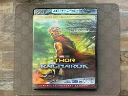Thor: Ragnarok 4k Ultra HDBlu-Ray Disc + 4K Digital Code (Cinematic Universe)