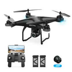 Holy Stone HS120D FPV GPS drone with camera return home auto hover RC quadcopter $139.99