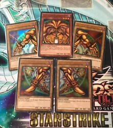 YUGIOH: EXODIA THE FORBIDDEN ONE 5-CARD SET YGLD Ultra Rare Holo Foil Playable