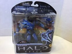 McFarlane Toys Halo Reach Series 2 ELITE OFFICER Blue Sword New NIB Power UP