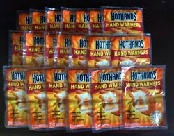 Hot Hands Hand Warmers Heat Up To 10 Hours Lot Of 20 Pairs 40 Warmers Exp 4 2024 $22.39