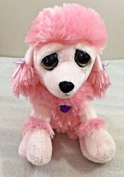 PINK POODLE 8quot; big eyed plush by The Petting Zoo $5.99