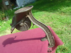 Antique  Cast Iron Table Mount Cherry Pitter By Enterprise MF'G Co. Phil'A U.S.A