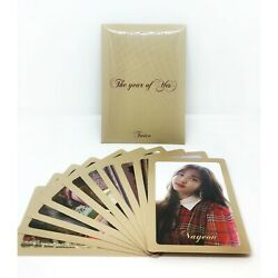 TWICE THE YEAR OF YES Pre Order benefit Photocard set A VER. $9.99