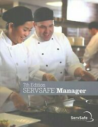 ServSafe Manager Book English 7th Edition NEW book with Answer Sheet