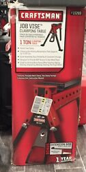 Craftsman Portable Job Vise Clamping Table 220 lbs Max  1 TON CLAMPING POWER $159.00