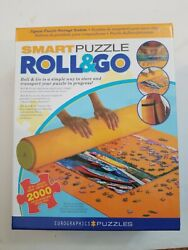 EuroGraphics Roll and Go Jigsaw Puzzle Mat fits up to 2000 Pieces vinyl NEW