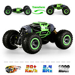 4WD RC Cars Off Road Vehicles Rock Crawler 2.4G Remote Control Car Monster Truck $32.98