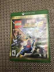 LEGO Marvel Super Heroes 2 Deluxe Edition (Microsoft Xbox One2017)Tested 1010
