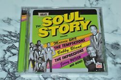 NEW - The Soul Story - The Temptations + Bobby Bland + Jerry Butler + More (CD)
