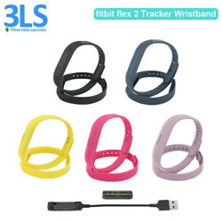 Fitbit Flex 2 Fitness Wristbands Activity Tracker Silicone Straps Large