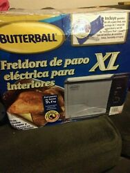 Butterball Indoor Electric Turkey Fryer XL 20lb Capacity New In Box