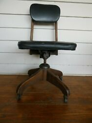 Antique Bankers Chair Diehl Furniture Co Columbus OH $75.00