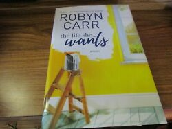 The Life She Wants by Robyn Carr Large Print Book Save wCombined Shipping!
