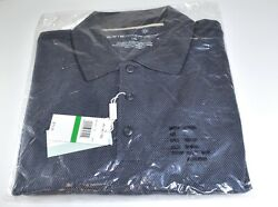 Axis ModernCont Polo Men's Shirt - Large - Ebony Color - New in Plastic Wrap!!!  $40.00