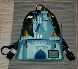 NEW Disney Parks Magic Kingdom Cinderella Castle Loungefly Mini Backpack 2019