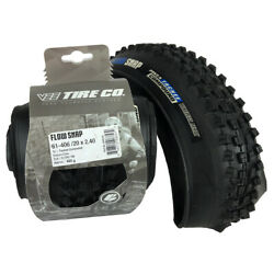 2 Vee Tire 20x2.40 Flow Snap Bike Tires Folding Bead Enduro Core 20x2.4 tires $94.88