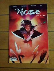 Niobe She Is Life 4 * Very Low Print Last Issue ! Ashley Woods ! HBO Series !