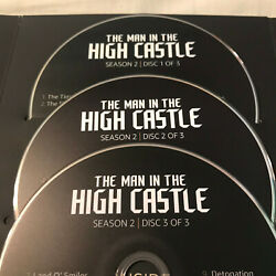 THE MAN IN THE HIGH CASTLE - COMPLETE SEASON 2 EMMY FYC DVD AMAZON RUPERT EVANS