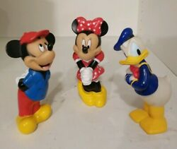 Old Disney Vintage Collectibles 3 Character Sets $39.99