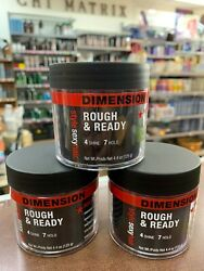 Sexy Hair Rough & Ready Pomade with Hold 4.4 Ounce (PACK OF 3)
