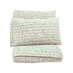 Letters SHEETS SET Black white Teens Bedding Twin 3 PIECES $73.48