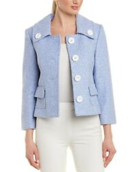 NWT MICHAEL KORS COLLECTION WOMENS WOOL SUITS (JACKET & SKIRT) size 2 $2590