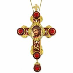 Christ Bridegroom Extreme Humility Byzantine Style Wall Cross Pendant Room 9quot; $50.99
