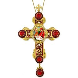 Holy Family Icon Byzantine Style Wall Cross Pendant Room 9quot; $50.99