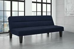 Modern Convertible Futon Sofa Bed Sleeper Adjustable Couch Full Size Living Room