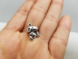 10 PCS Snoopy Dog Charms Silver Finished DD2 $2.20