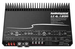 AudioControl LC 6.1200 High Power 1200W 6 Channel Amplifier w AccuBass Amp NEW $644.99