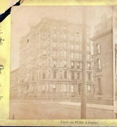 Stereoview NYC 5th Avenue c.1860's-70's The Best Series Civil War Era?