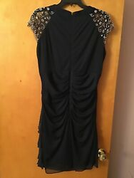 Bets And Adam black cocktail dress size 16 $45.00