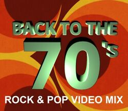 70's ROCK & POP MUSIC VIDEOS DVD - BTO Boston Abba Gary Wright & MORE 51 HITS
