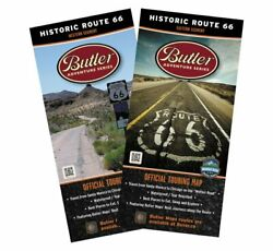 BUTLER MAPS Historic Route 66 RT66SET