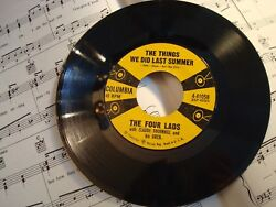 The Four Lads-THE THINGS WE DID LAST SUMMERPUT A LIGHT IN THE WINDOW VG+