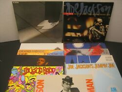 11 LOT Joe Jackson Sharp Live World Beat Man Day LP Vinyl $4 Ship New Wave 80's
