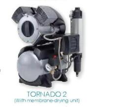 DURR TORNANDO 2 WITH DRYER DENTAL COMPRESSOR WITH MEMBRANE DRYING UNIT $7448.00