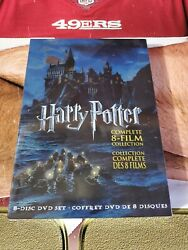 Harry Potter Complete 8-Film Collection DVD Set 2011 Brand New Must Have!