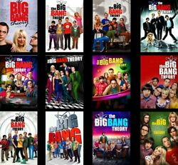 The Big Bang Theory Complete Series Seasons 1-12 DVD Set